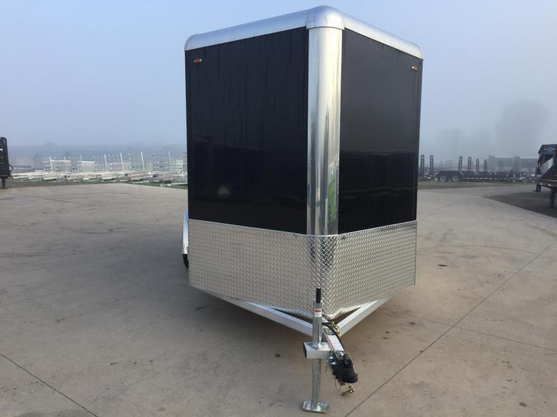 2017 Legend Manufacturing 7X14 Aluminum Enclosed Cargo Trailer