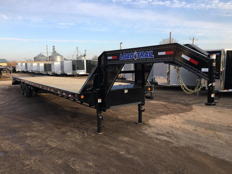 2018 Load Trail 102X40 Gooseneck Deckover Equipment Trailer