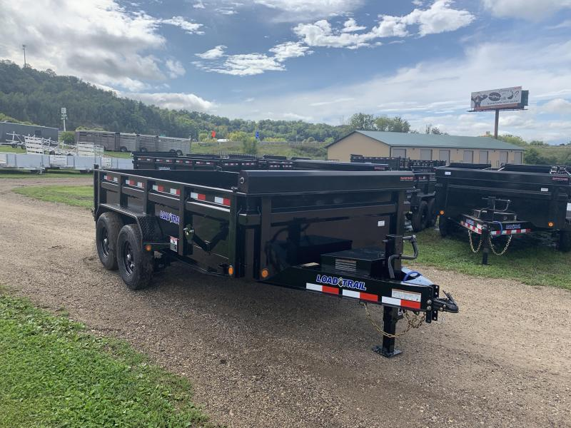 2020 Load Trail 83X14 Low Pro Dump Trailer