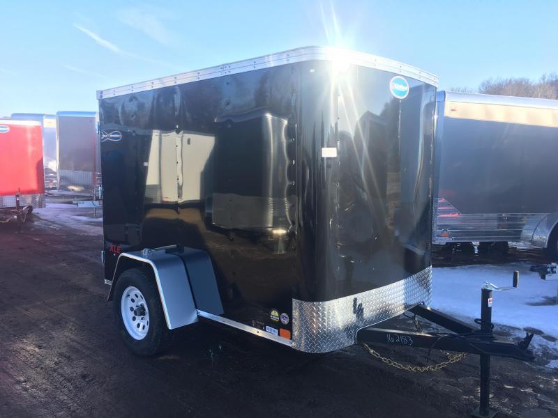 2018 United Trailers 5X8 Enclosed Cargo Trailer