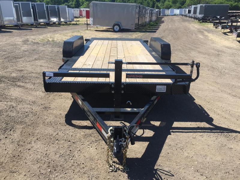 2017 Iron Bull 83x18 Long Gravity Tilt Deck