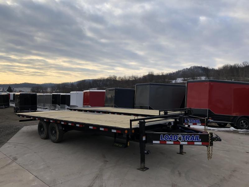 2018 Load Trail 102X24 Power Tilt Equipment Trailer