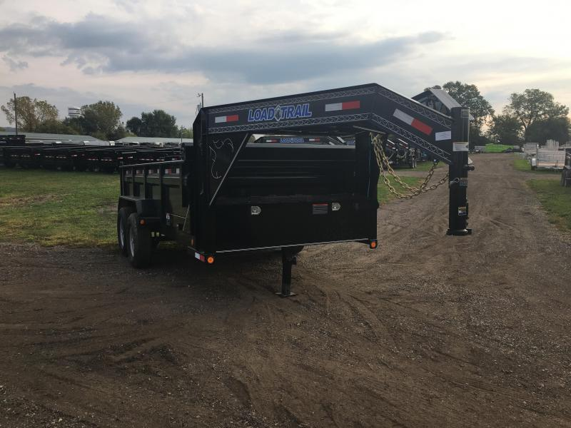2018 Load Trail 83X14 Gooseneck Dump Trailer