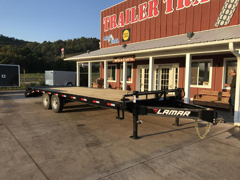 2018 Lamar Trailers 102X24 Deckover Equipment Trailer