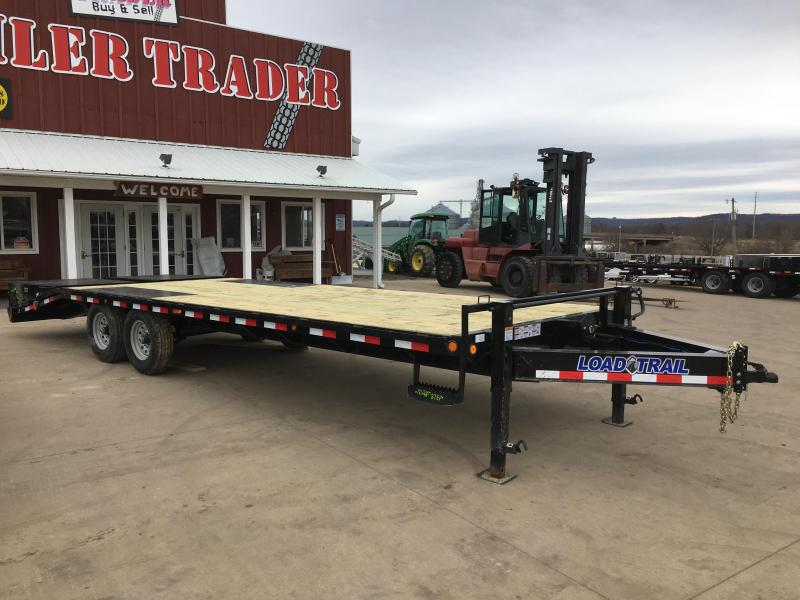 2018 Load Trail 102X26 Deckover Equipment Trailer