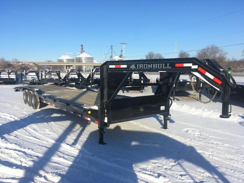 2018 Iron Bull 102X36 Gooseneck Car Hauler
