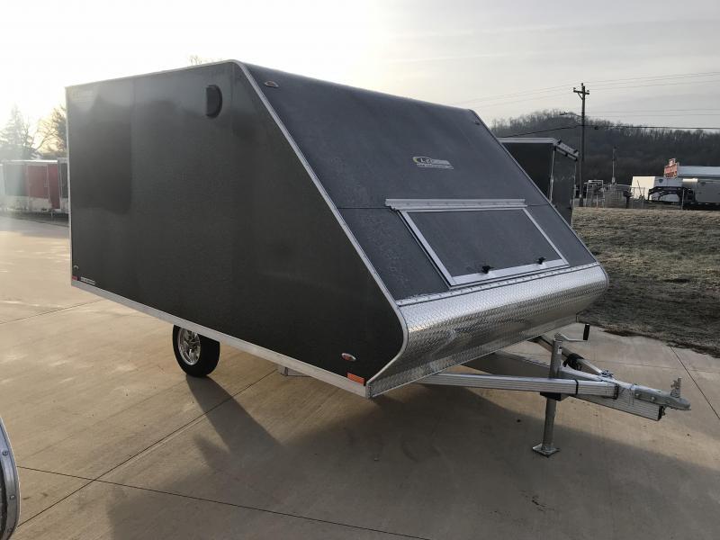 2019 Legend Manufacturing 101X12 Hybrid Snowmobile Trailer
