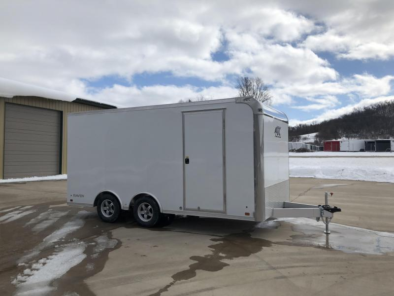 2018 Aluminum Trailer Company 8.5X16 Aluminum Enclosed Cargo Trailer