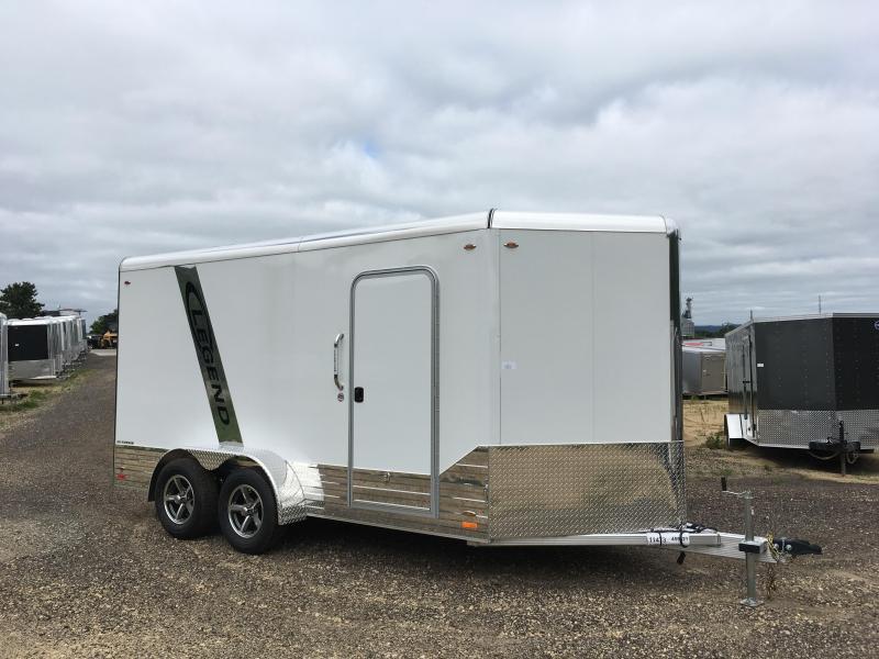 2018 Legend Manufacturing 7X14 Enclosed Aluminum Cargo Trailer