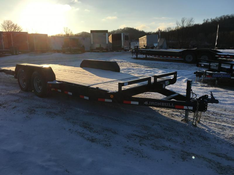 2018 Iron Bull 83X18 Gravity Tilt Deck Equipment Trailer