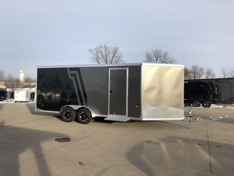 2019 NEO Trailers 7X22 Inline Snowmobile Trailer