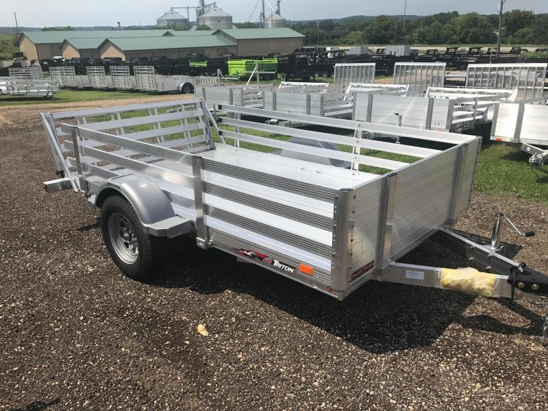 2017 Triton 72X10 Aluminum Utility Trailer