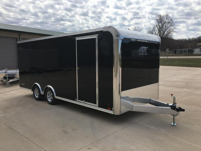 2019 Aluminum Trailer Company 8.5X20 Aluminum Enclosed Cargo Trailer