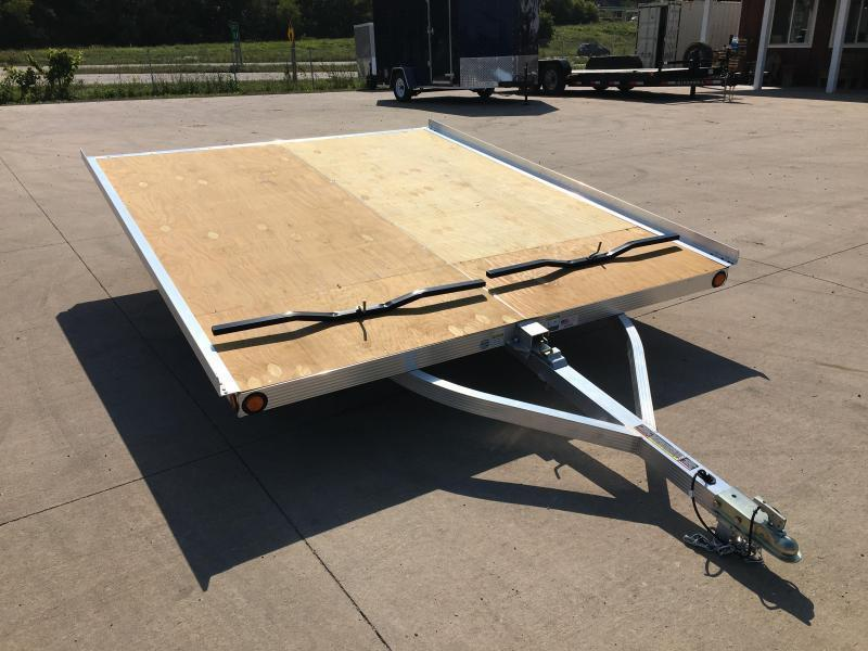 2018 Triton 101X10 2 Place Snowmobile Trailer