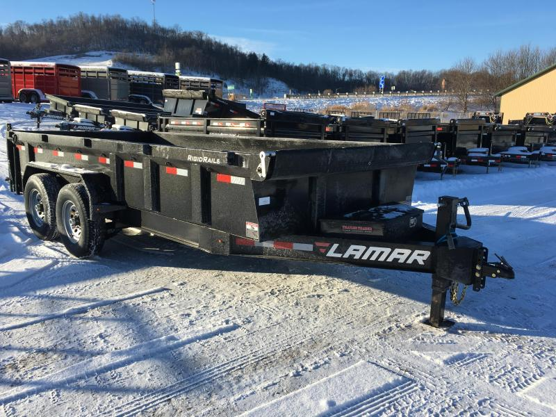 2018 Lamar Trailers 83X16 Low Pro Dump Trailer