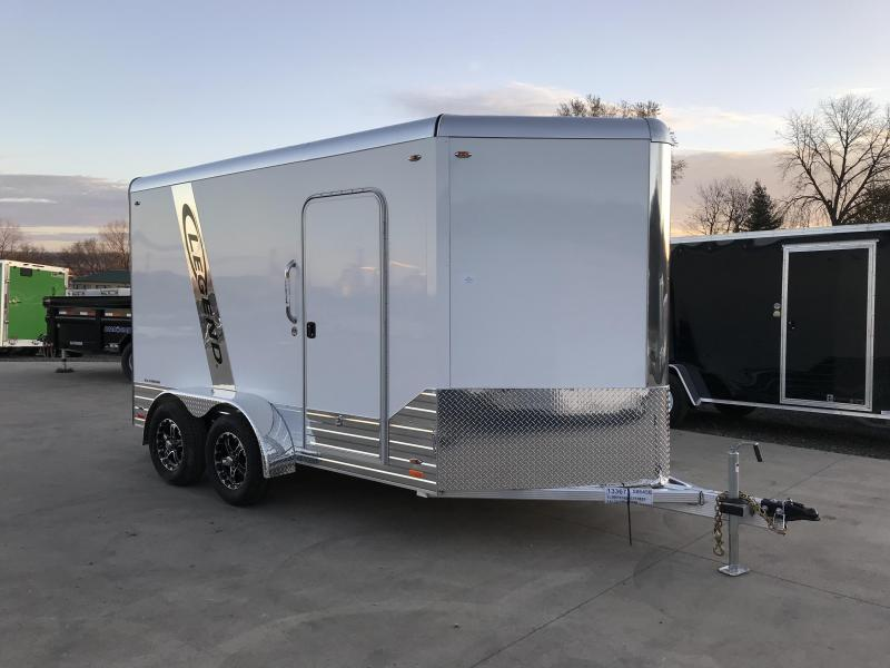 2018 Legend Manufacturing 7X12 Aluminum Enclosed Cargo Trailer