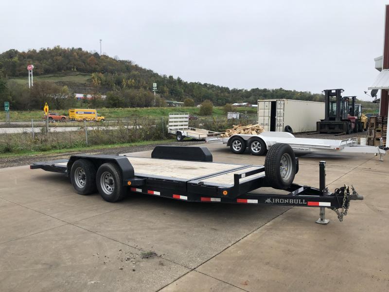 2018 Iron Bull 83X18 Gravity Tilt Deck Equipment Trailer