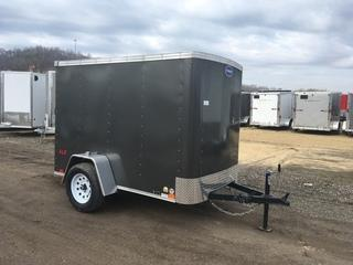 2017 United Trailers 5x8 Enclosed Cargo Trailer