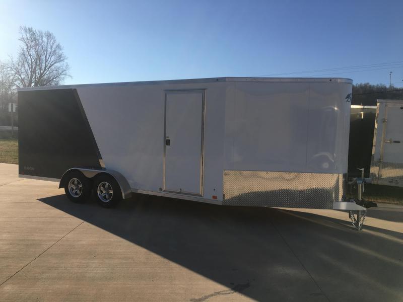 2019 Aluminum Trailer Company 7X24 Inline Snowmobile Trailer