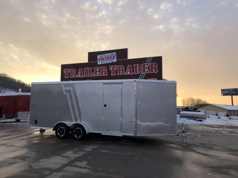 2019 NEO Trailers 7X22 Inline Snowmobile Trailer