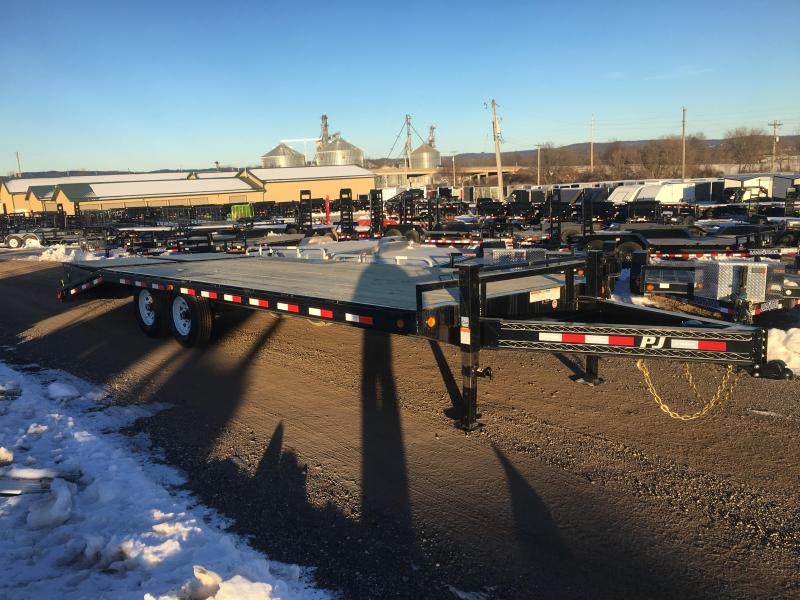 2019 PJ Trailers 102X24 Deckover Equipment Trailer