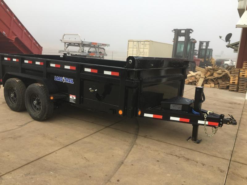 2018 Load Trail 83X14 Low Pro Dump Trailer
