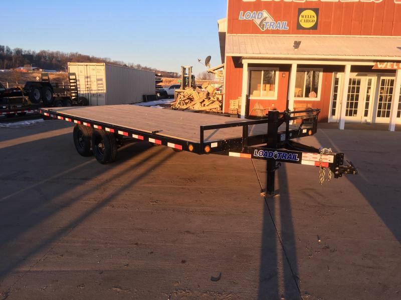 2018 Load Trail 102X20 Deckover Equipment Trailer