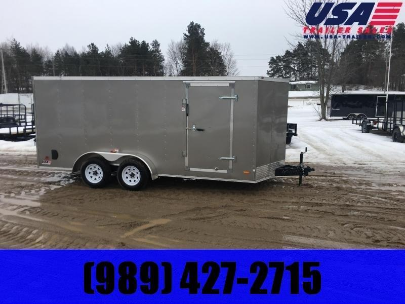 2020 MTI Trailers MWT 7X16TA2 Enclosed Cargo Trailer