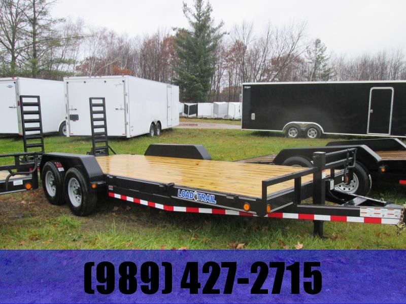 2019 Load Trail 83 x 18 skidsteer Equipment Trailer