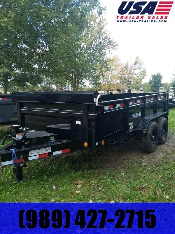 New 16' 14K Load Trail Dump Trailers The Bench Mark Of Quality