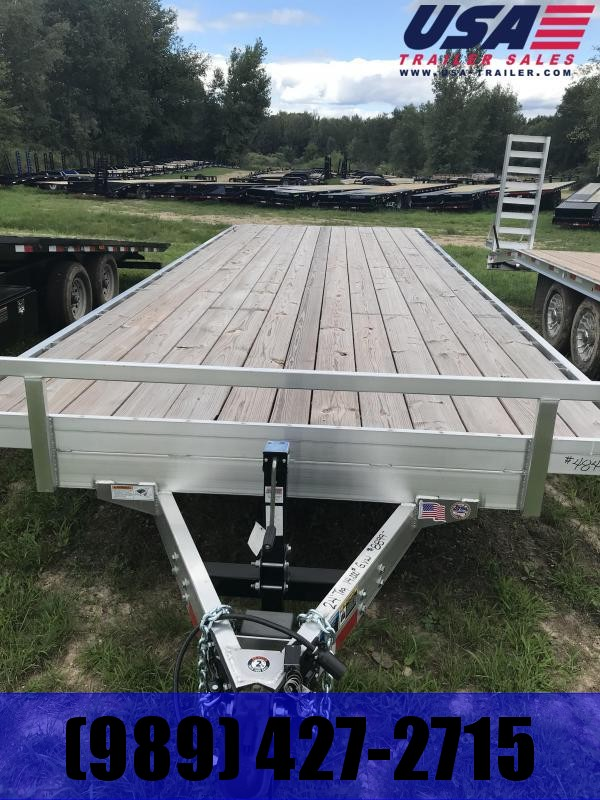 2019 H and H Trailer H10224HAL-140 Equipment Trailer