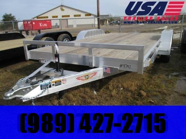 2020 H and H Trailer H8218HDAD Car / Racing Trailer