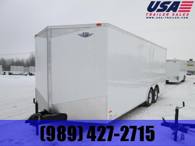 2019 MTI Trailers 8.5 x 24 10K 7' interior Enclosed Cargo Trailer