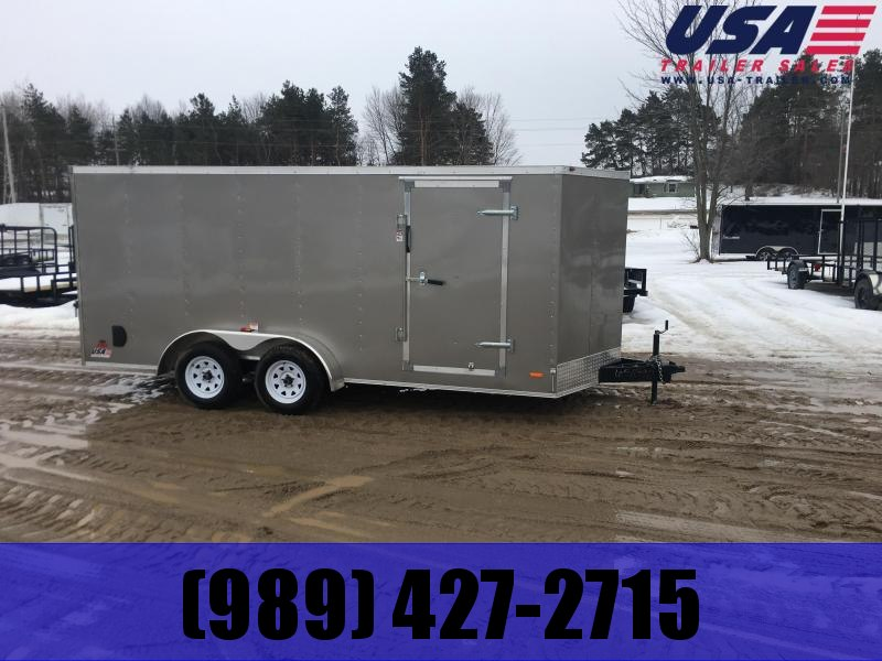 2019 MTI Trailers MWT 7X16TA2 Enclosed Cargo Trailer