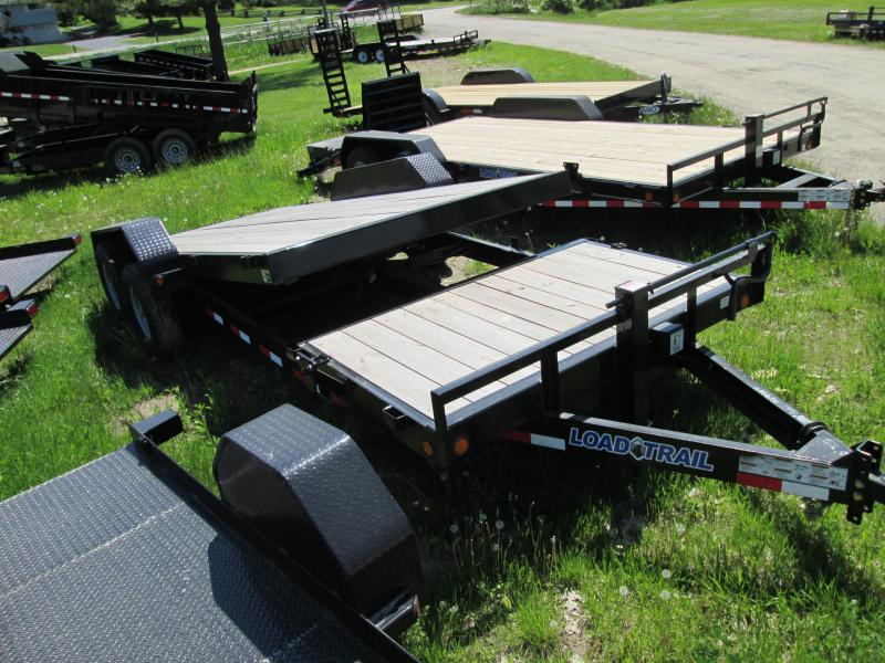 2019 Load Trail 20 Tilt Deck Over Equipment Trailer