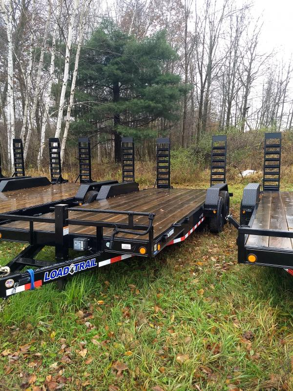 New Old Stock 20' 14k Load Trail Equipment Trailer Michigan's #1 Selling Brand Of Trailer
