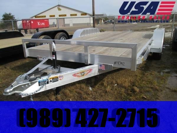 2019 H and H Trailer H8218HDAD Car / Racing Trailer