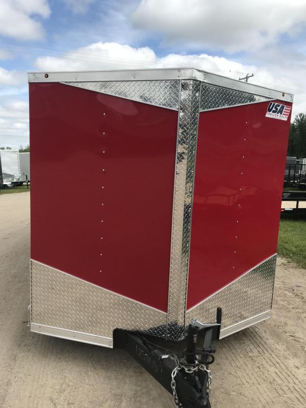 2019 MTI Trailers MWT 7X16TA2 Enclosed Cargo Trailer