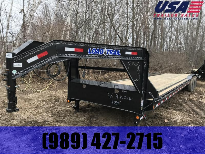 2020 Load Trail GC102X40 Equipment Trailer