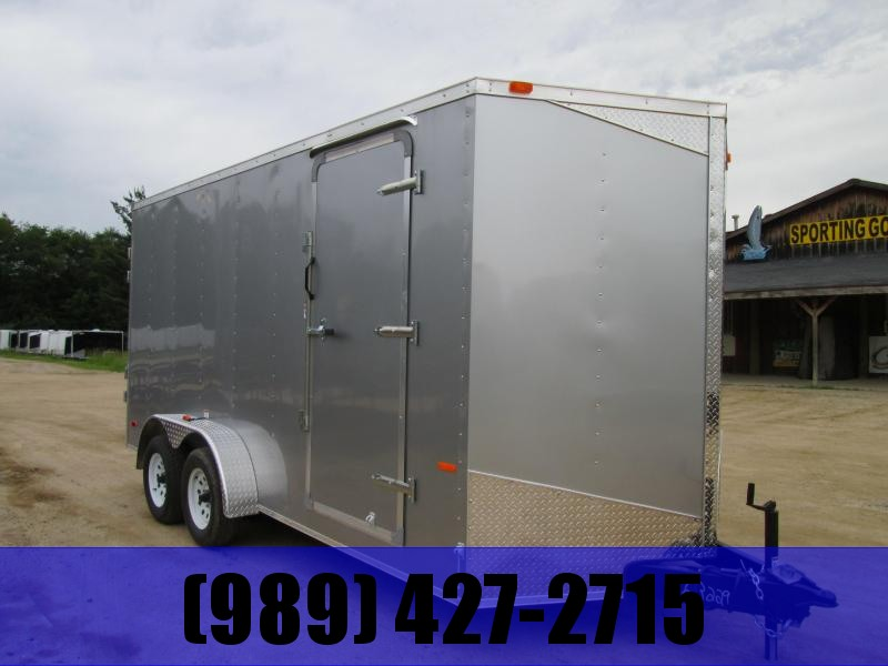 2019 MTI Trailers 7 x 14 Ramp USA Enclosed Cargo Trailer