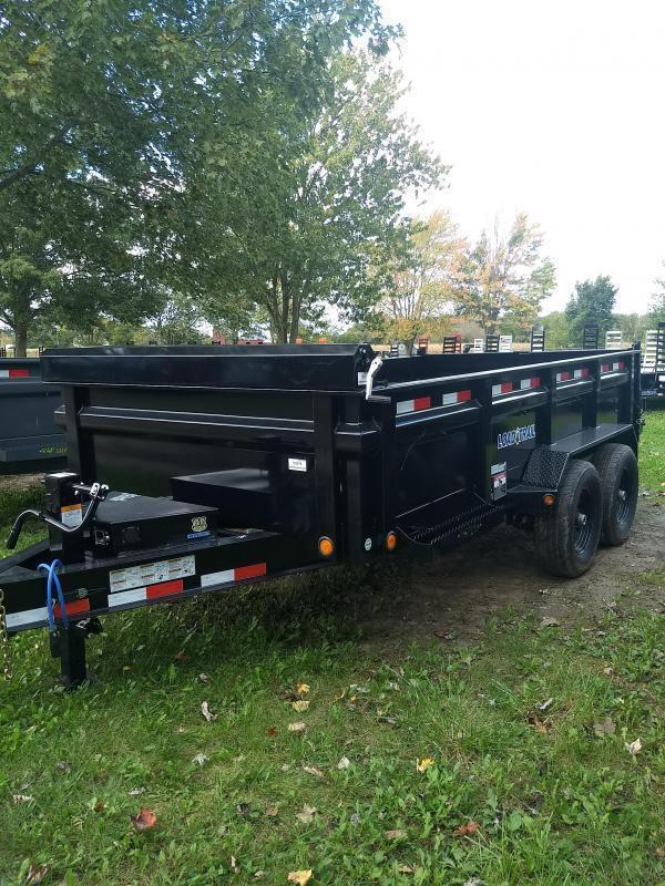New 14' Load Trail Dump Trailer Michigan's #1 Brand of Trailer