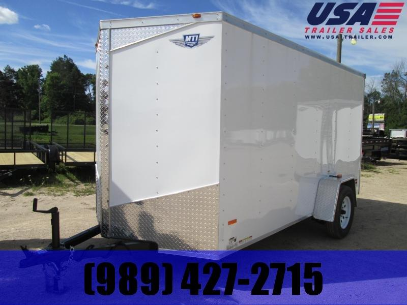 2019 MTI Trailers 6x12 Ramp Enclosed Cargo Trailer