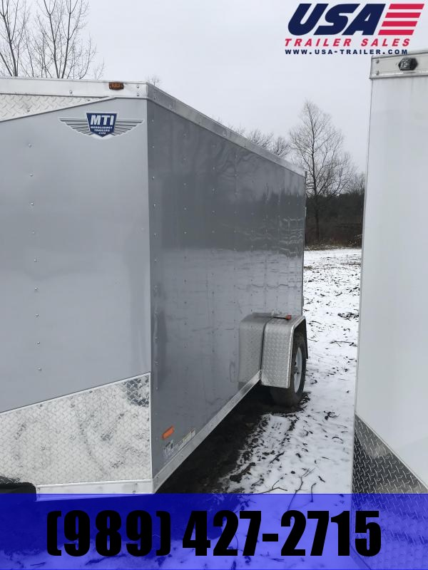 2019 MTI Trailers 6x12 Silver Barn Enclosed Cargo Trailer