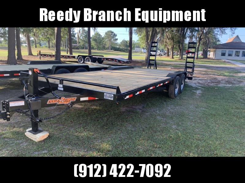 "(2019) 102""x24' Drive Over Fenders Equipment Trailer by Down 2 Earth"