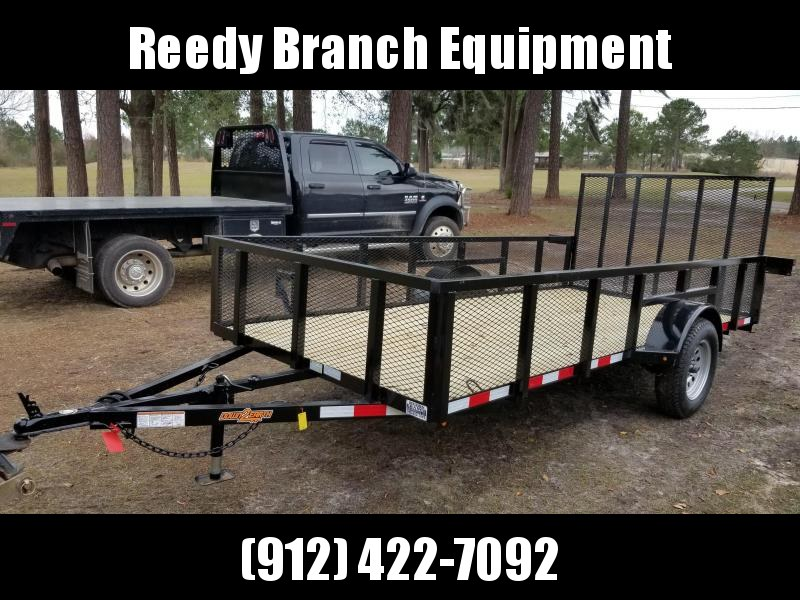 2019 6'x14' (HIGH SIDE) Utility Trailer