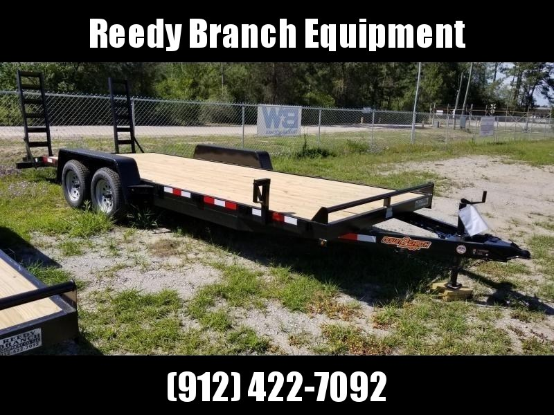 "2018 Down 2 Earth Trailers 82""x20' Equipment Trailer 7KGVWR"