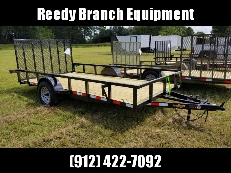 2018 Down 2 Earth Trailers DTE8214UGA Utility Trailer