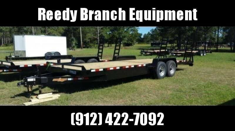 "New 82""x24' Down to Earth Equipment Trailer (14K GVWR)"