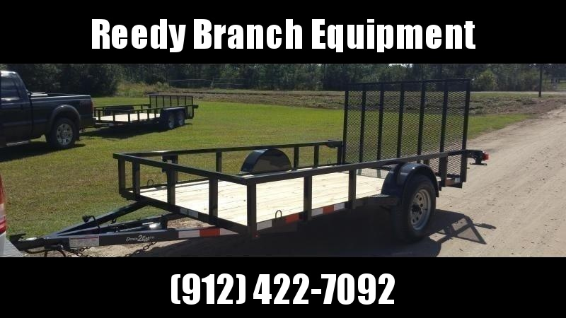 2018 Down 2 Earth Trailers DTE612G29 Utility Trailer
