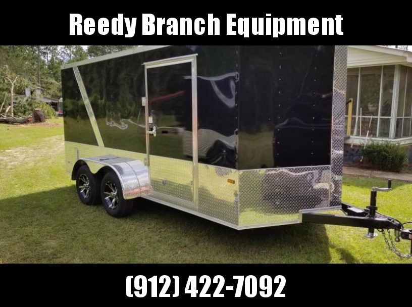 2018 ROCK SOLID CARGO (BIKE WEEK)(MOTORCYCLE PKG) 7x14TA Enclosed Cargo Trailer